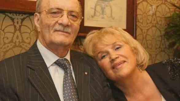 Георгий Данелия с женой. Фото