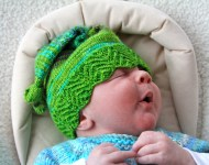 9: Ronan in his Pixi hat