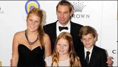 Shane-Warne-Family