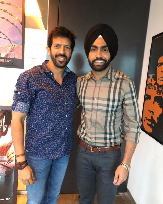 Ammy Virk with Kabir Khan