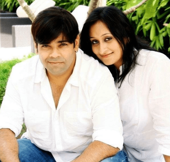 Kiku Sharda with Wife