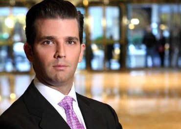 Businessman Donald Trump Jr.