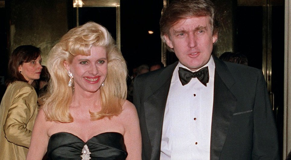 Donald Trump And Ivana Trump Journey Marriage To Divorce