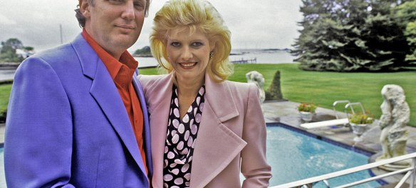 Ivana Trump and Donald Trump divorced after his extra marital affair with Marla Maples.