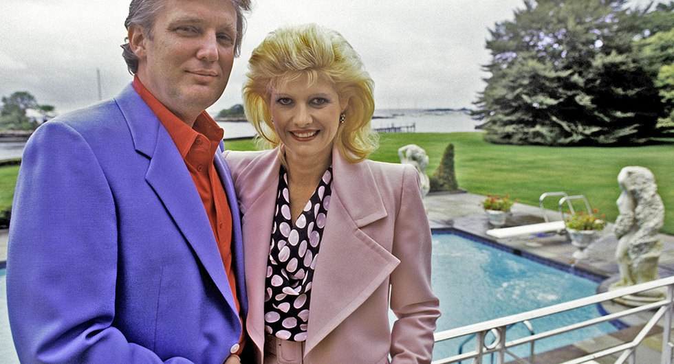 Ivana Trump And Donald Trump Divorce Story Biographytree