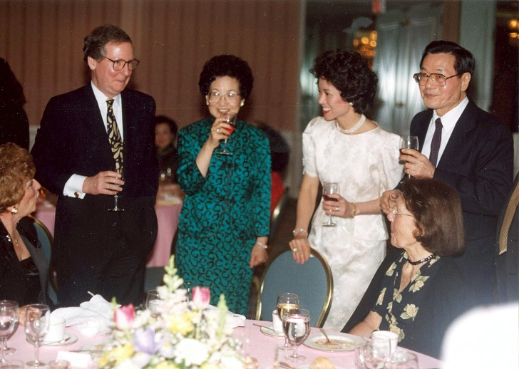 Elaine Chao in a private party.