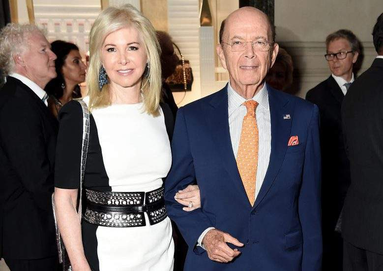 Wilbur Ross and his ex wife whom he divorced.