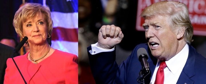 DonaldTrump and Linda McMahon have a long association with each other.