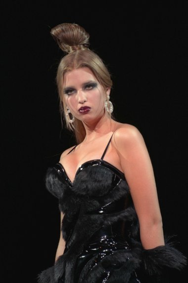 Ivanka Trump in one of the fashion shows.