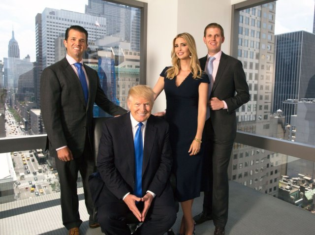 Ivanka Trump along with her brothers Eric and Donald Jr. worked in the Trump organization previously.