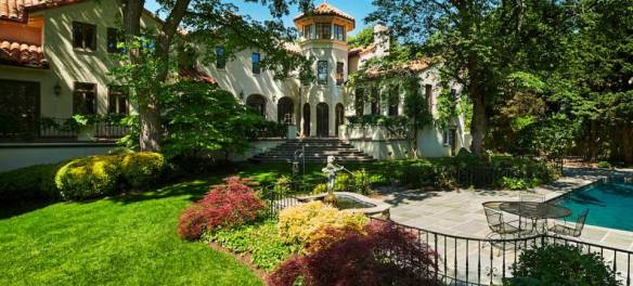 George T. Conway III and Kellyanne Conway Mansion in Washington DC.