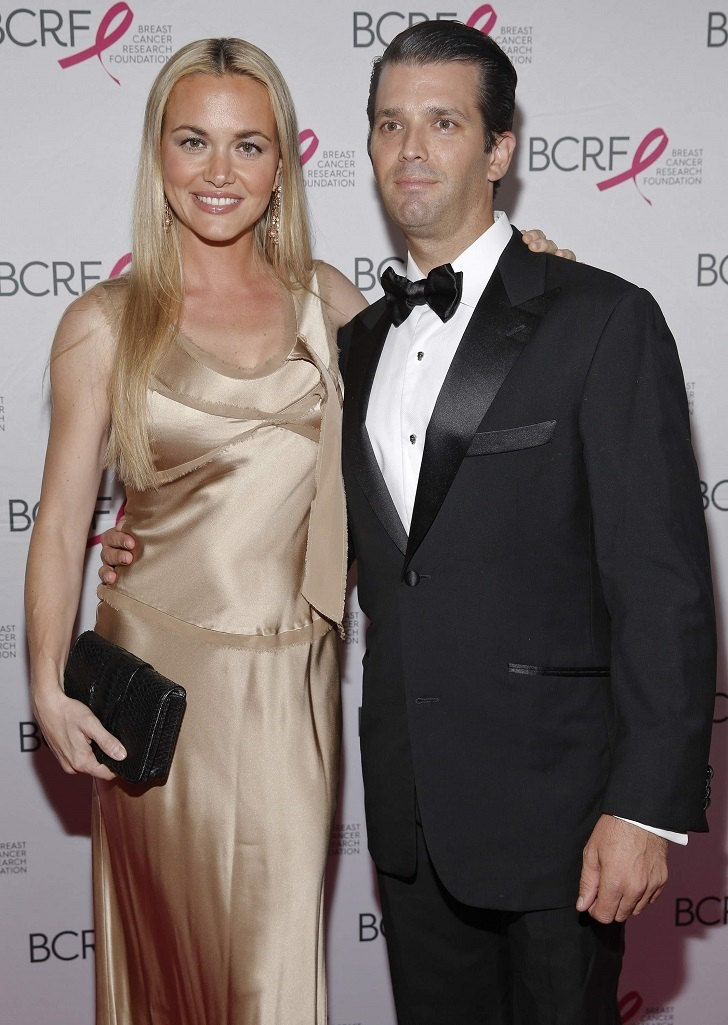 Vanessa Trump works with other Trump family members for the Trump organizations.