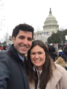 Bryan Sanders is a Republican campaign consultant with The Wickers Group which is a full-service political consulting firm specializing in strategic communication. He met Sarah while she was the campaign manager of her father's campaign where he served as the media consultant.