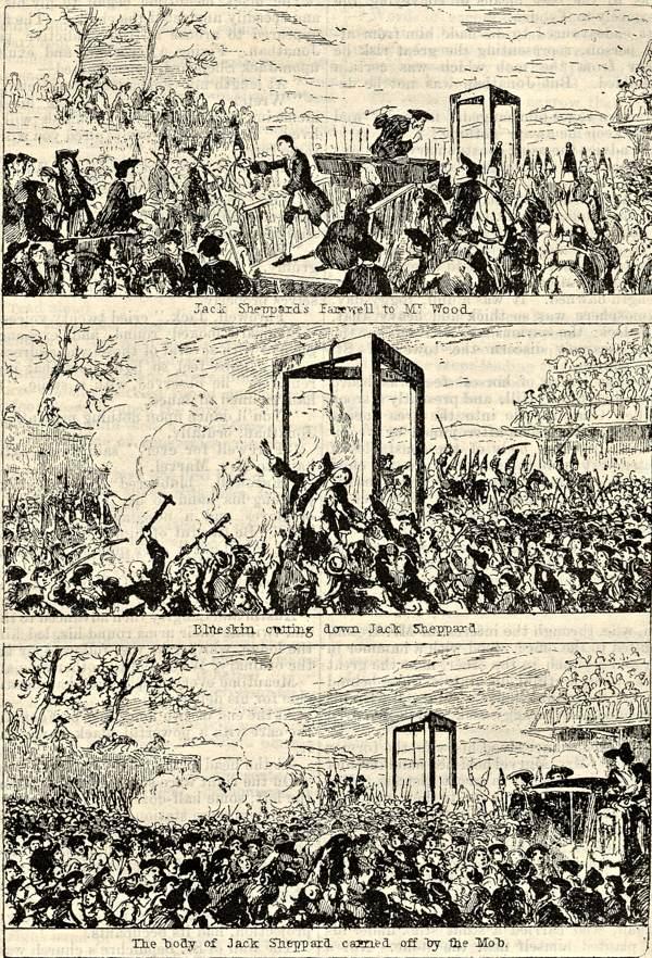 Jack Sheppard- celebrity escape artist (1702-1724) (5/5)