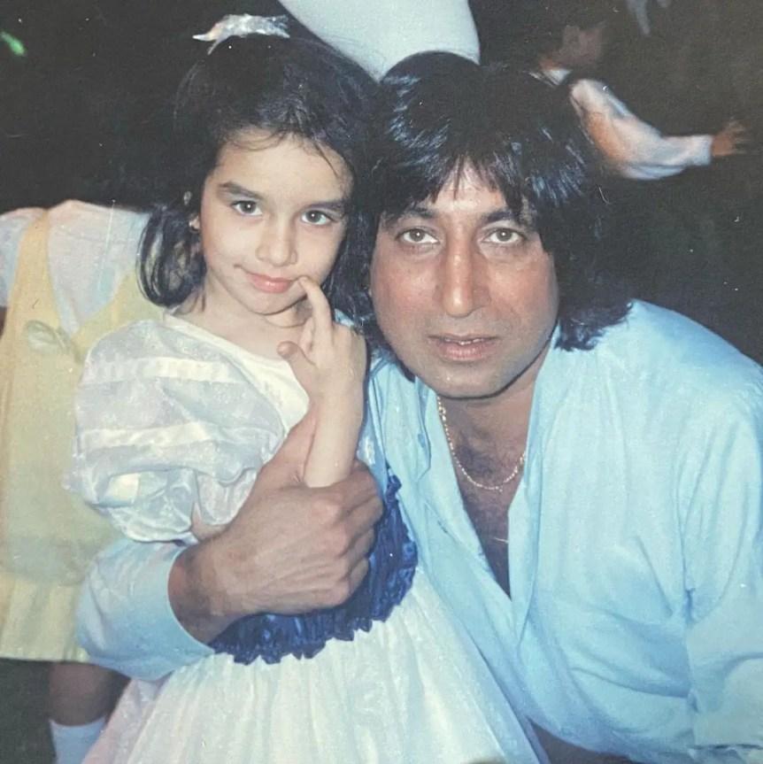 Shraddha Kapoor Childhood pic