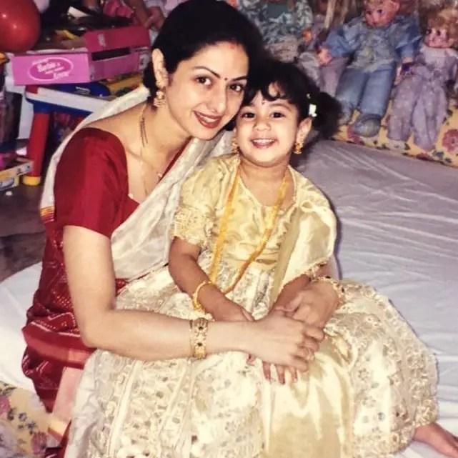 Jhanvi Kapoor Mother (Sri devi)