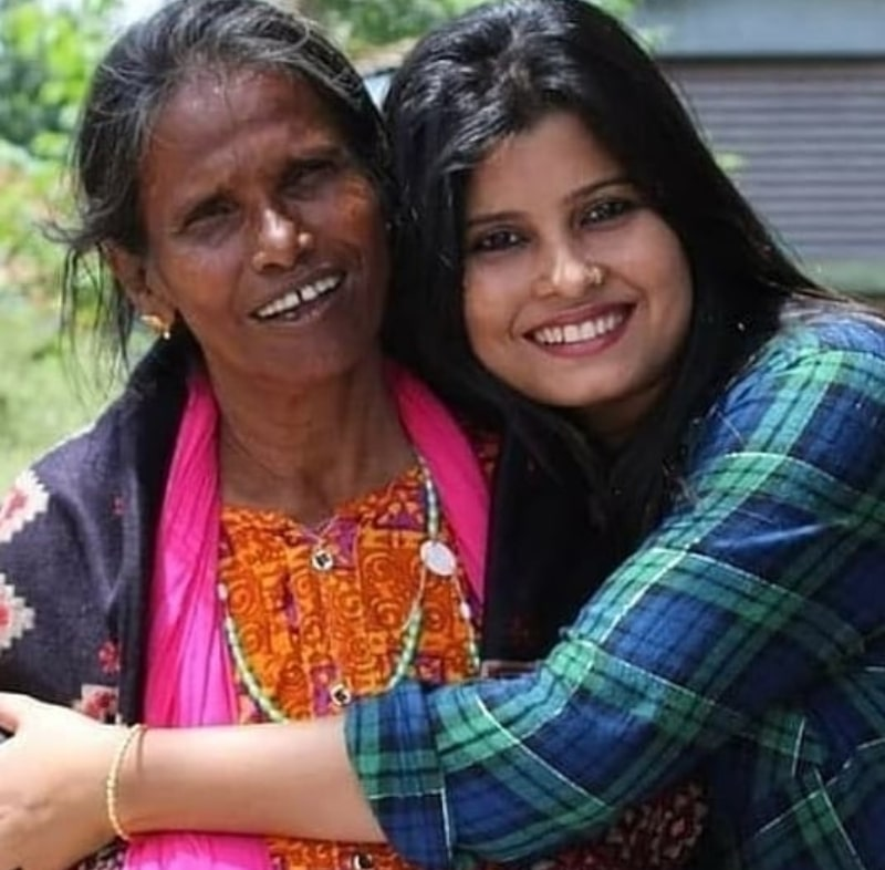 Ranu Mandal Daughter