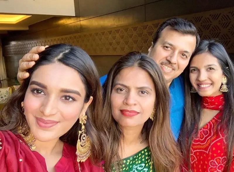 Nidhhi Agerwal family