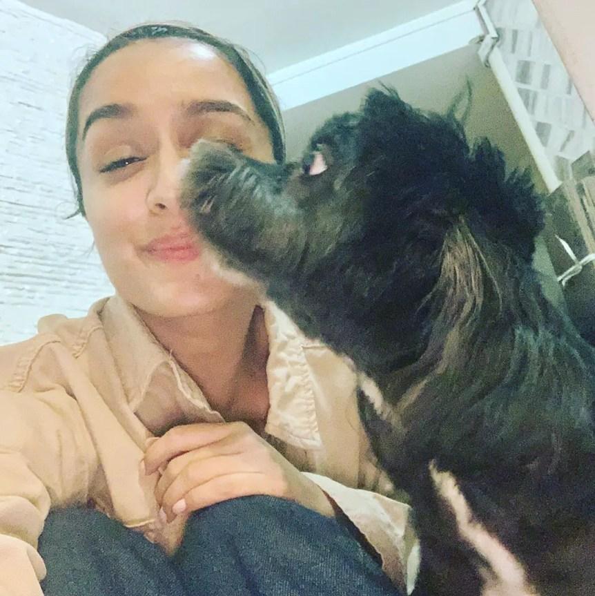 Shraddha Kapoor pets