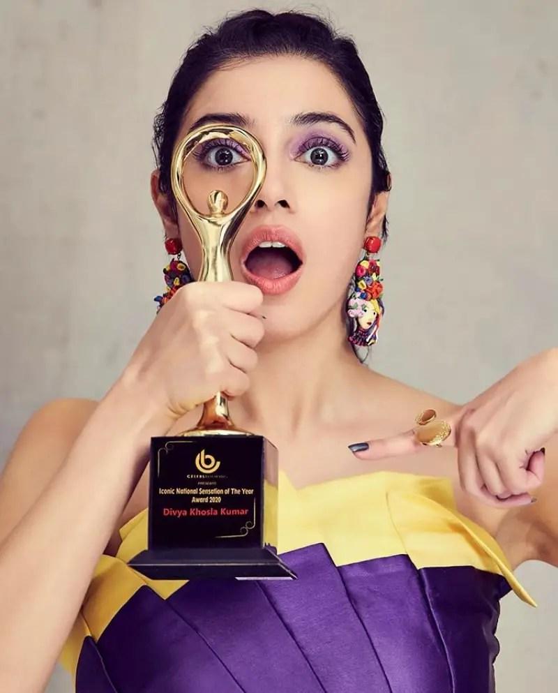 Divya Khosla Kumar awards