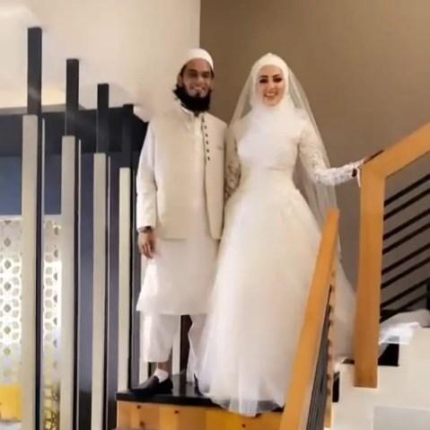 Sana Khan and Mufti Anas Marriage