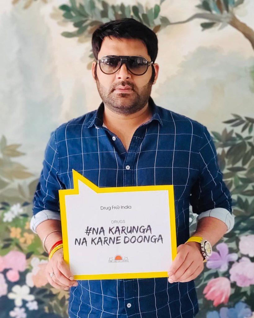 Kapil Sharma Drug-free India campaign