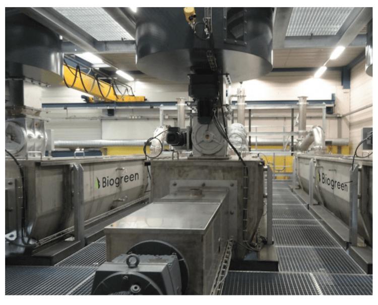 熱分解装置 biogreen 運転データ 処理内容 2018.1.8