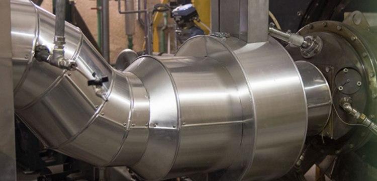 熱分解ガス ガスバーナー Gasflex no.2 熱分解装置 Biogreen 2018.4.10