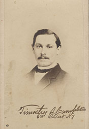 Another picture of U.S. Rep. Timothy J. Campbell, D-NY! This is from the collection of the U.S. House of Representatives.