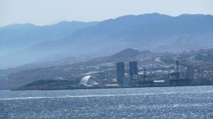 Ankunft auf Teneriffa Santa Cruz de Tenerife