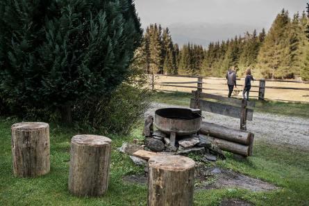 """Grillen auf der Almhütte """"Brandnerhütte"""""""