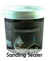 Biocolours sanding sealer untuk finishing kayu warna rustic black wash