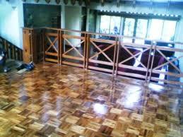 lantai kayu sistem layer