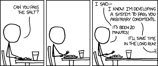 The General Problem - xkcd