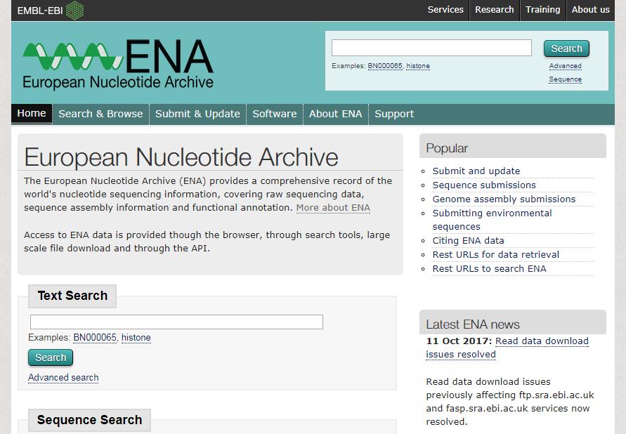 Page d'accueil de l'ENA