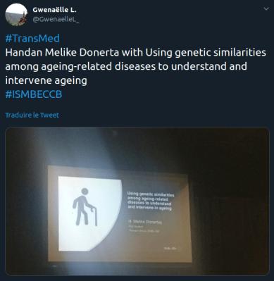 Exemple de tweet de début de fil