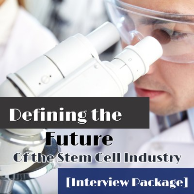Stem Cell Industry Interviews