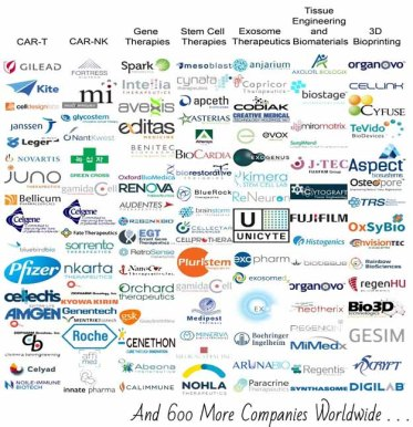 Global Regenerative Medicine Industry | CAR-T Companies: The Meteoric Rise Of Cellular Immunotherapies