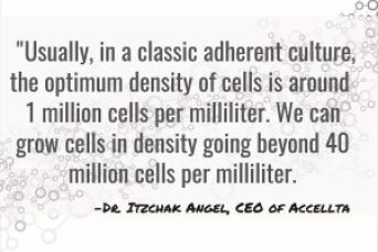 Accellta High-Density Stem Cell Production