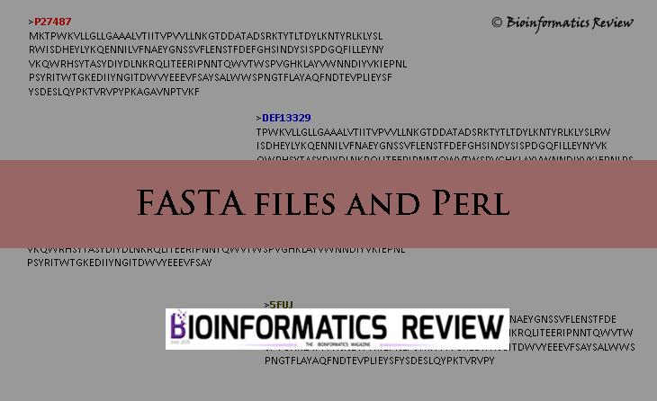 A perl script to convert multiline FASTA sequences into a
