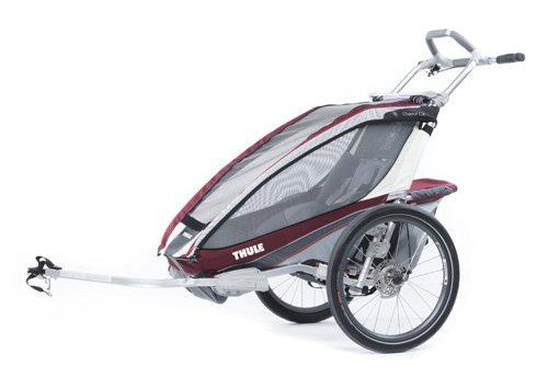 Thule_Chariot_CX1_Burgundy_Cycling 10101220_0