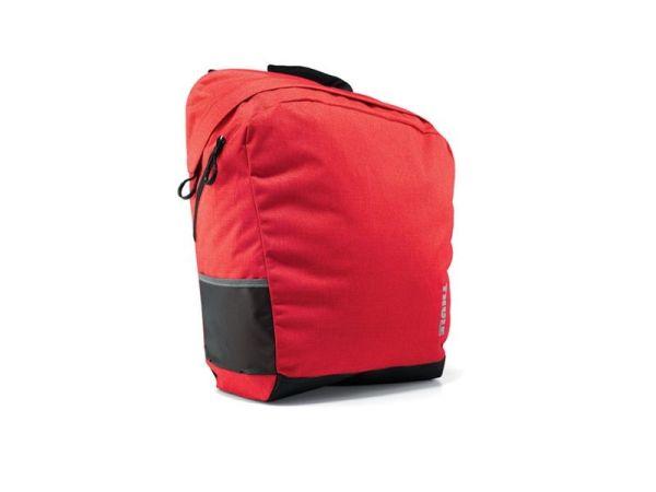 Bisaga i torba za bicikl 2u1 Thule Pack 'n Pedal crvena 26,5l