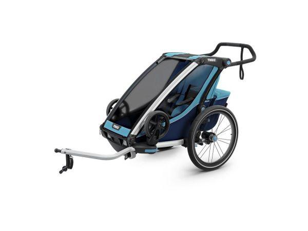 Thule Chariot Cross 1 plava dječja kolica za jedno dijete