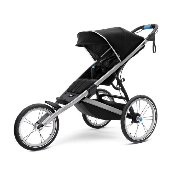 Thule Glide 2 crna dječja kolica za jedno dijete