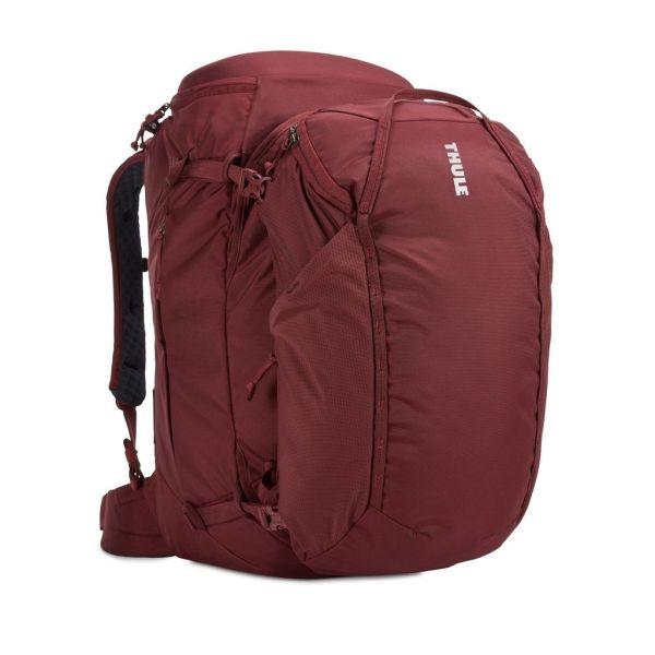 Putni ruksak ženski 2u1 Thule Landmark 60L crveni