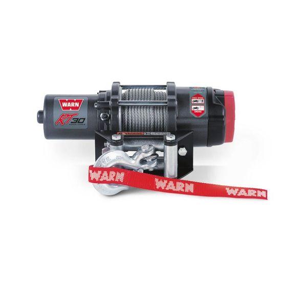 Vitlo Warn RT30, 24V, 1.360kg sa čeličnom sajlom i vodilicom s žičnim daljinskim