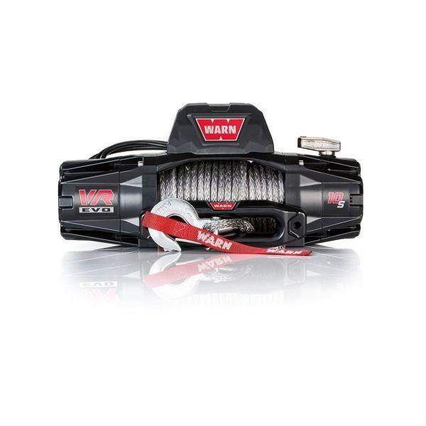Vitlo Warn VR EVO 10-S, 12V, 4.530kg sa sintetskim užetom, vodilicom i žičnim i bežičnim daljinskim