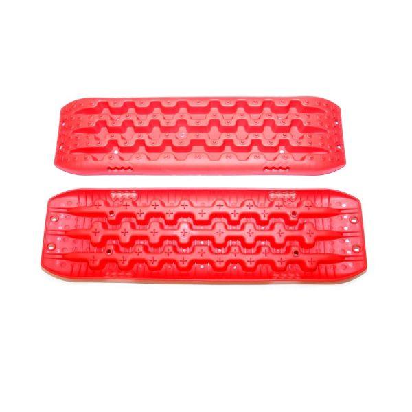 Dragon podmetači/trapovi pod kotače crveni za izvlačenje vozila (par)