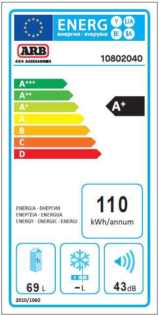 ARB kompresorski prijenosni hladnjak za kampiranje ZERO Dual zone, 69L, 12V/24V/220V do -22°C
