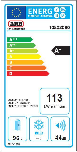 ARB kompresorski prijenosni hladnjak za kampiranje ZERO Dual zone, 96L, 12V/24V/220V do -22°C